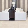 Mosman Ivory Rectified Porcelain Tile Living Room
