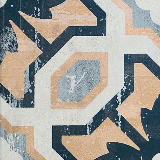 Bayonne 2 Vintage Patterned Porcelain Tile