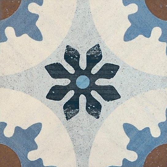 Bayonne 4 Vintage Patterned Porcelain Tile