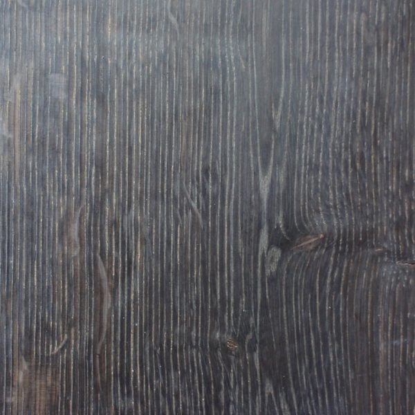 Liquorice Black Brushed Oak Flooring