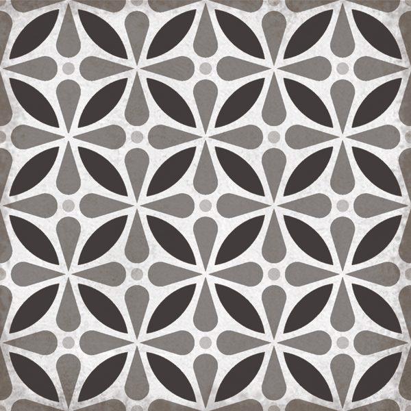Domme Orchid, Patterned Porcelain Tile