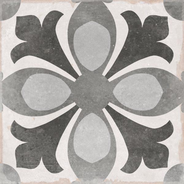 Domme Viola, Patterned Porcelain Tile