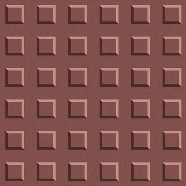 Kubus Red 3D feature Wall Tile 302 x 302 x 10mm