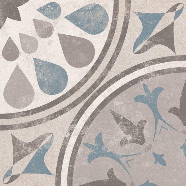 Laureat Burst, Patterned Porcelain Tile