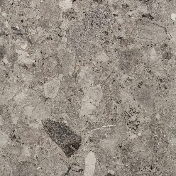 Milan Grey, Stone & Terrazzo Effect Porcelain Tile