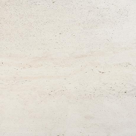 Tremosine White, Snowy Toned Travertine Style Porclelain Tile
