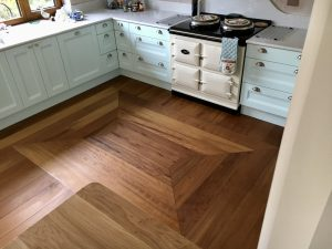 Beautiful Wood Flooring in A Kitchen
