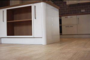 Munich wood flooring in kitchen