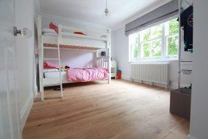 Barling Natural Matt Childrens Bedroom Oak Flooring