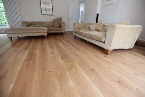 Barling Matt Raw Oiled Oak Living Room Flooring