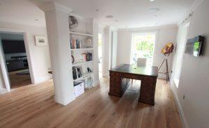 Barling Natural Raw Oiled Home Office Flooring