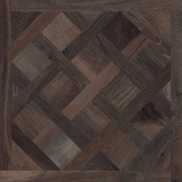 Melfort Dark Brown Versailles Panel Porcelain Tile