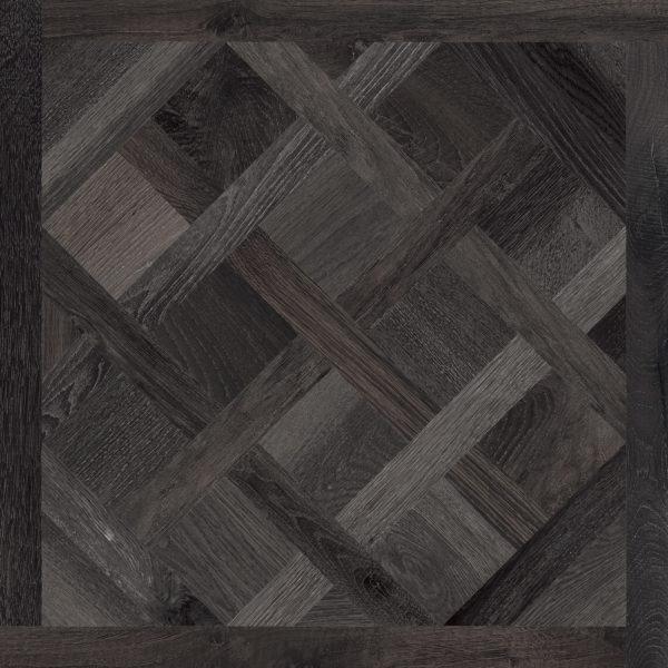 Melfort Versailles Black Brown Wood Effect Porcealain Tile