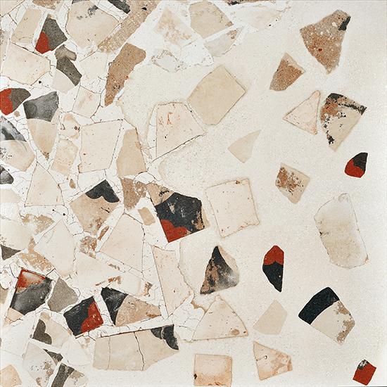 Monza Cream Decorative Terrazzo Porcelain Tile