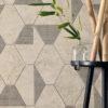 Concreta Ivory Reclaimed Concrete Effect Feature Wall Tile