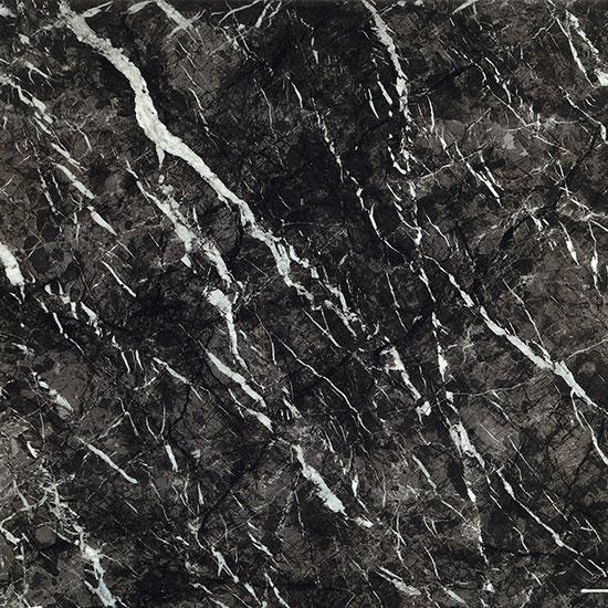 Grigio Carnico Black Grey Marble Effect Porcelain Tile