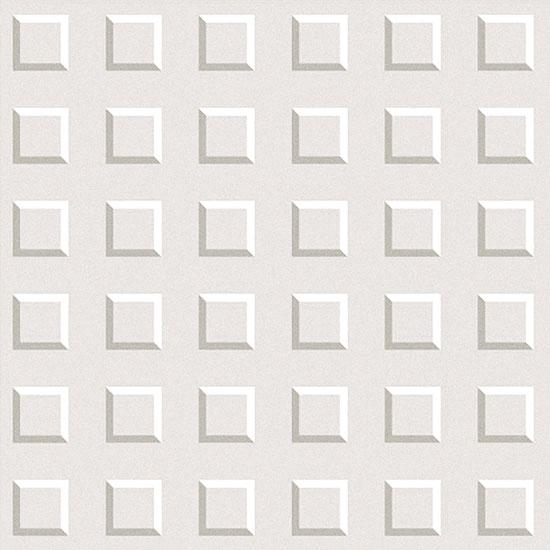 Kubus 3D White Porcelain Tile