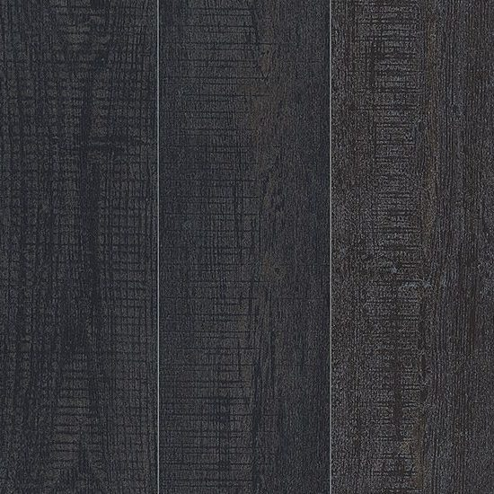 Largo Black Painted Wood Effect Floor tile
