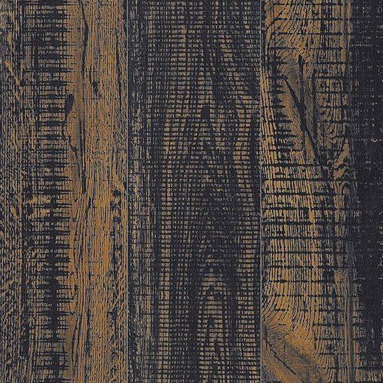 Largo Worn Black Wood Effect Tile