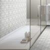 Maroc Fern Soft Green Encaustic Bathroom Floor And Wall Tiles