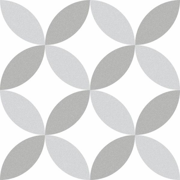 Maroc Stone Encaustic Style Geometric Porcelain Tiles