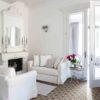 Maroc Tan Encaustic Style Living Room Floor Tiles