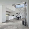 Maurienne Grey Quartzite Stone Effect Porcelain Kitchen Family Room Floor Tiles