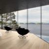 Mayenne Light White Wood Tile open plan living room