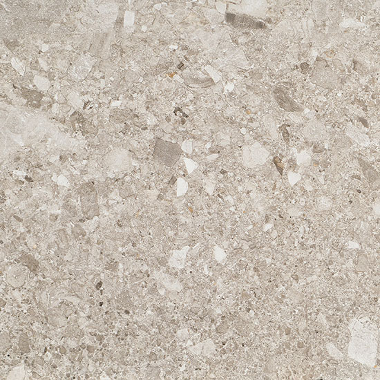 Milan Light Grey Terrazzo Stone Effect Porcelain Tile