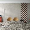 Monza Dark Grey Decorative Terrazzo and Cement Wall and Floor Tiles