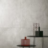 Monza Grey Terrazzo Tiled Wall