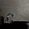 Monza Black Terrazzo Wall Tile and Mosaic Feature Wall