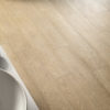 Schervage Light Oak Effect Tiled Floor and Basin