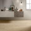 Schervage Light Oak Wood Effect Bathroom Floor Tile