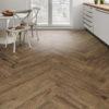 Schervage Natural Brown Oak kitchen floor tile