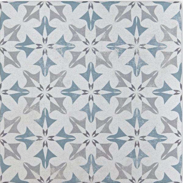 Laureat Winter Encaustic Patterned Porcelain Tiles