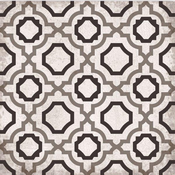 Cadiz Rose Moroccan Encaustic Style Porcelain Tile