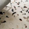 Monza Cream Cement Terrazzo Italian Floor Tile