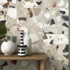 Monza Dark Grey Terrazzo Decorative Feature Wall Tiles